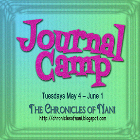 Journal Camp logo with dates